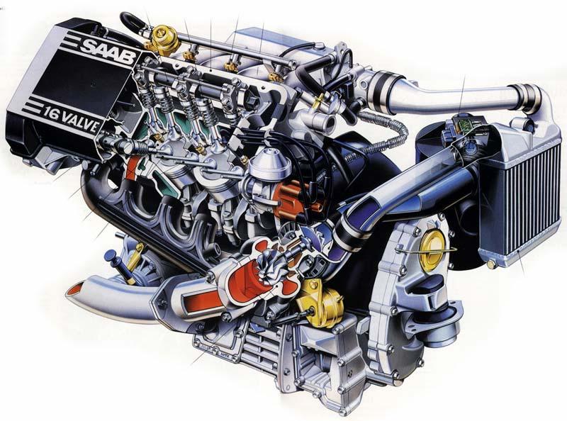 Saab Intercooler APC-System